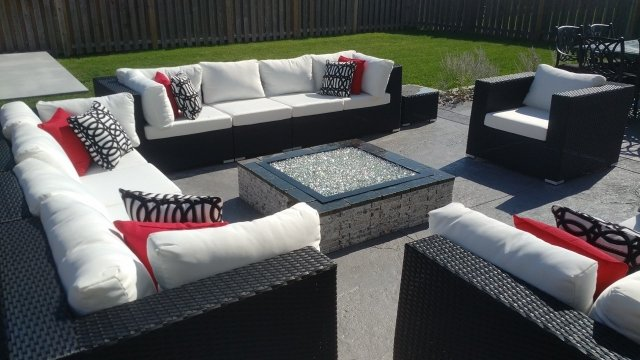 Custom Fire Pit Design