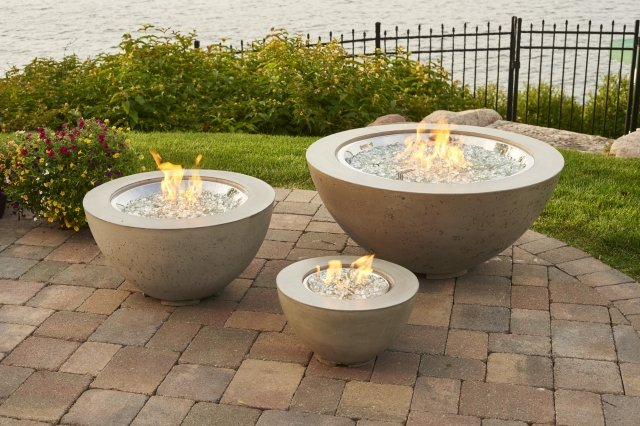 Cove Collection Fire Pit Bowls