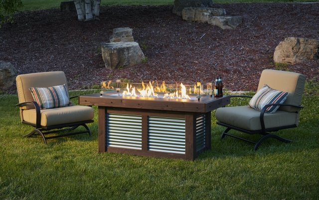 Denali Brew Gas Fire Pit Table