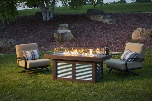 Denali Brew Gas Fire Pit Table by The Outdoor GreatRoom Company for your home patio or backyard