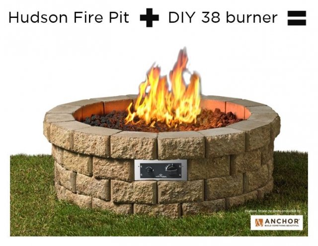 diy gas fire pit for fall the outdoor greatroom company. Black Bedroom Furniture Sets. Home Design Ideas