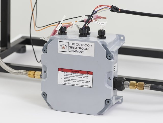 Direct Spark Ignition System for natural gas or propane burners, fire pit tables, and fire features by The Outdoor GreatRoom Company for commercial spaces, businesses, residential, and home use