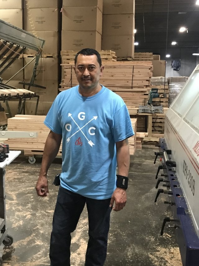 June's Innovative Expert of the Month Odi Aragon Production Lead and Manufacturing for The Outdoor GreatRoom Company in Minnesota