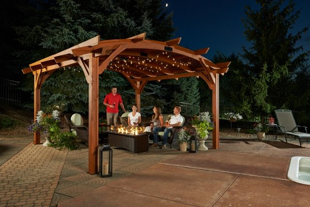 Top Wood Pergola Faqs The Outdoor Greatroom Company