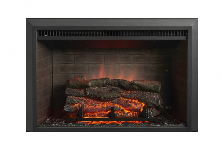 32 Zero Clearance Electric Fireplace Insert Outdoor Greatroom Company