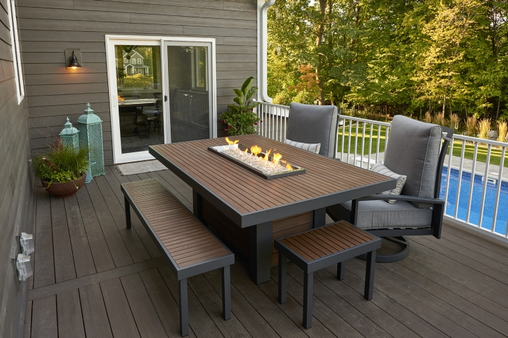 30++ Fire pit dining table set canada Tips