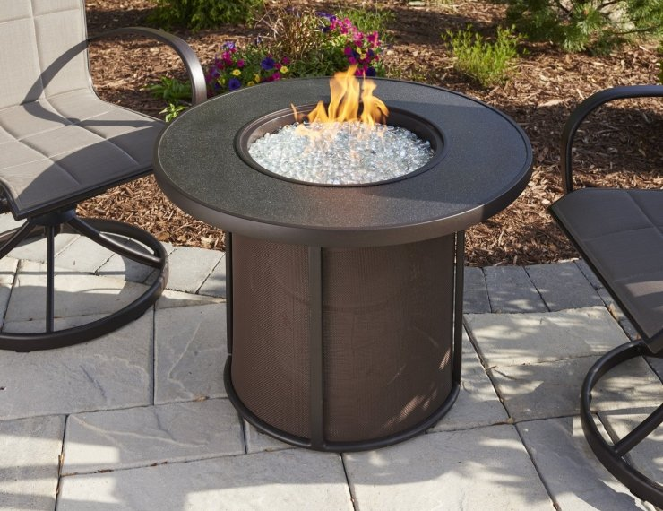 Stonefire Fire Table w/Stonefire Composite Top 32
