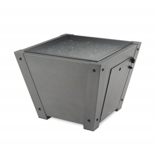Axel Square Gas Fire Pit Table by The Outdoor GreatRoom Company for our patio or backyard