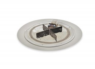 "16"" Round Crystal Fire Plus Burner Insert with 20"" Burner Plate  by The Outdoor GreatRoom Company"