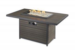 Modern design ideas Brooks Gas Fire Pit Table by The Outdoor GreatRoom Company for your unique patio or porch space