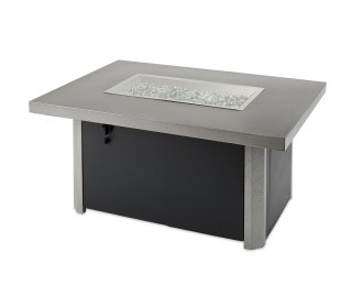 Caden Rectangular Gas Fire Pit Table by The Outdoor GreatRoom Company for your deck, patio, or backyard space