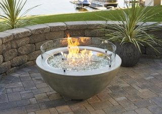 Cove 30 Quot Gas Fire Pit Bowl The Outdoor Greatroom Company