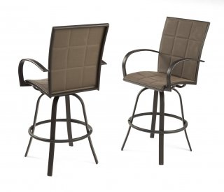 Stylish, durable design Empire Bar Stools by The Outdoor GreatRoom Company for your unique patio or deck