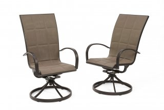 Durable, comfy design Empire Dining Chairs by The Outdoor GreatRoom Company for your patio or backyard dining