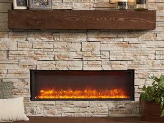 Gallery Linear Built In Electric Fireplace | The Outdoor ...