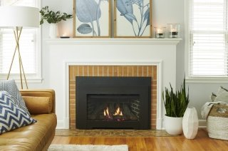 Highland Gas Insert with Modern Front Beauty