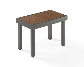 Modern, easy to care for design Kenwood Short Bench by The Outdoor GreatRoom Company for your patio or backyard