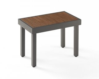 Modern, easy to maintain design Kenwood Short Bench by The Outdoor GreatRoom Company for your patio or deck