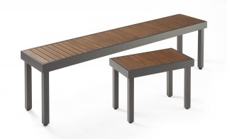 Kenwood Long Bench and Short Bench