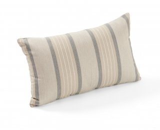 Stylish, supportive Cove Pebble Lumbar Pillow by the Outdoor GreatRoom Company for your patio or backyard area