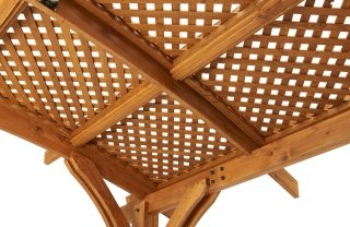 Redwood Lattice Detail