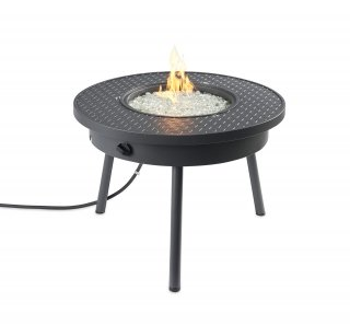 Compact, safe design Renegade Portable Gas Fire Pit Table by The Outdoor GreatRoom Company for your camping fire pit, RV fire essentials, and tailgating party gas fire table