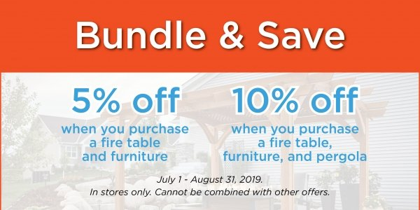 Bundle And Save July Aug 19 Promo