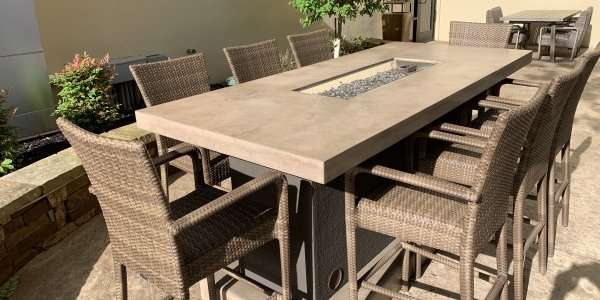 Custom Fire Pit Table for your backyard space