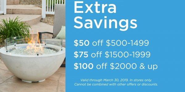Extra Savings on your favorite Outdoor GreatRoom Company products