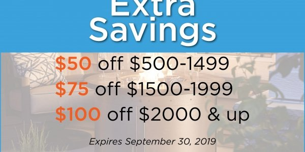Extra Savings Coupon Sept 2019