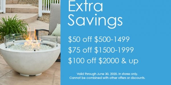 Extra Savings Coupon for The Outdoor GreatRoom Company products