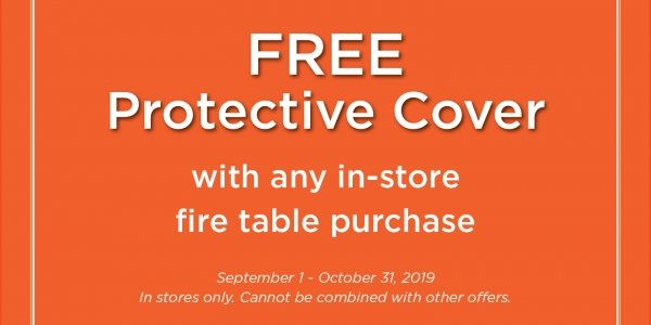 Free Protective Cover Promotion