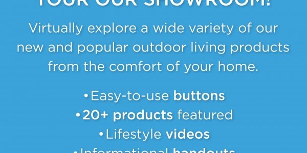 Virtual showroom tour by The Outdoor GreatRooom Company